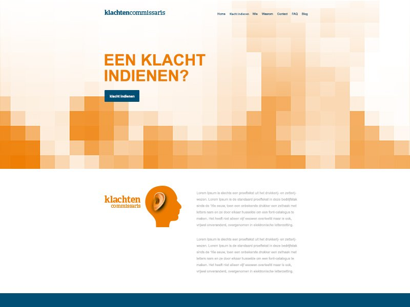 Website Klachtencommissaris
