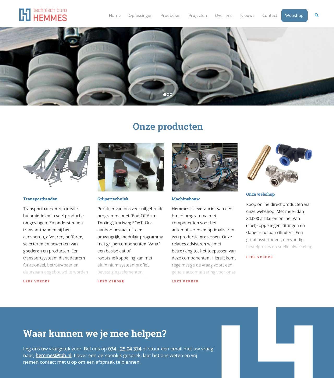 Hemmes-website